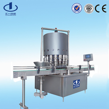 automatic bottle nitrogen filling machine gas injection vacuum packaging machine