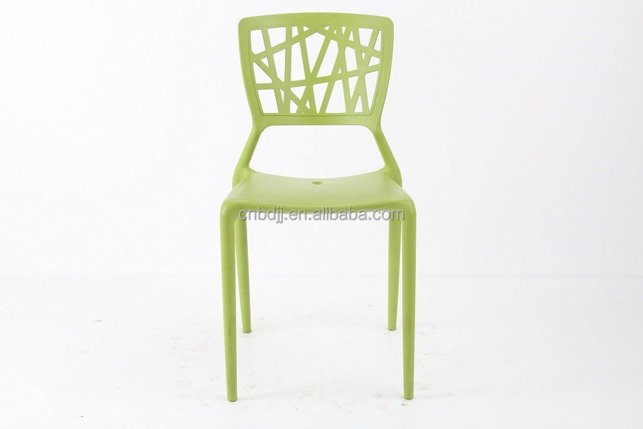 Enhenced Cheap Stackable Pp Plastic Leisure Phoenix Side Chair Dining Chair R