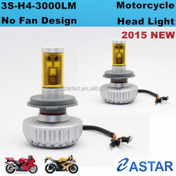 Newest 3S no fan design LED Headlight for motorcycle