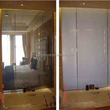 Promotional SGCC, CE, ISO9001 magic switchable smart glass for window/door/shower room