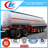 3 axles aluminum alloy 50000l fuel tanker semitrailer for sale