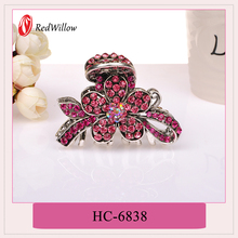 China wholesale merchandise Different Colors Available decorative hair claw clips