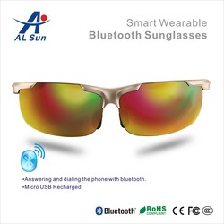 Hote sale Latest smart wearable glasses,accessory for mobile phone