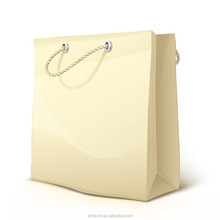 Brown Kraft Paper Bag With Handles Shopping Packaging