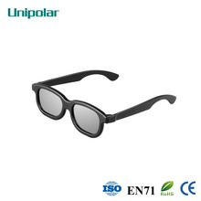 Multicolor and good texture polarized plastic 3D glasses (HOT SALE!!)
