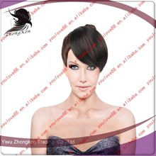 clip-in fringe/bangs/synthetic hair bang/wig/hairdressing/headwear