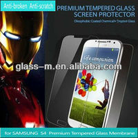 For Samsung Galaxy S4 i9500 Mobile Phone Case,Wholesales tempered glass Screen Protector