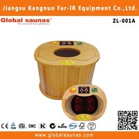 the most popular small infrared sauna set with massage ZL-001A