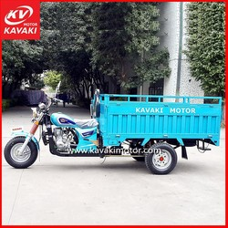 Kavaki Automobile Motorcycle Three Wheeled Motorized Tricycle / Three Gas Cars