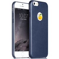 new arrival Trend fashion style leather case for iphone 6 plus case
