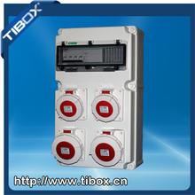 Plastic Distribution Boxes Industrial socket box Industrial plug&socket IP67 Compact power box