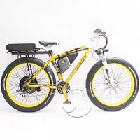 Hot sale fat tyre 1500W electric bike with lithium battery