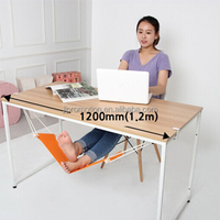 Office mini Foot hammock /foot-up for work and rest can adjust