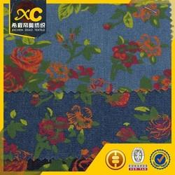 high quality printing 12oz 3/1 twill denim fabric