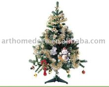 Christmas tree photos printed on canvas as a gift