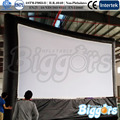 portátil de gran tamaño de pantalla de cine inflable