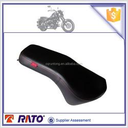 Wholesale ITALIKA TC200 chopper type leather motorcycle seat, motorcycle seat cushion, motorcycle saddles for sale