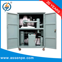 High Performance Double Stage recycle waste oil/centrifugal oil cleaning system