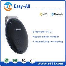 Mini hands free car kit speaker auto answering
