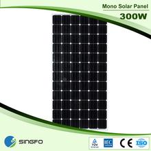 New Design Cheap 300W Price Per Watt Solar Panels In India