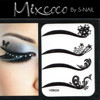 Removable Eyeliner Tattoo Sticker Non-toxic Eyeshadow