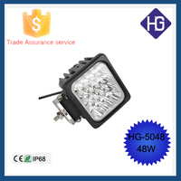 48W 12V IP68 led driving lamp car work light led 12 volt led lights motorcycles