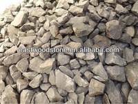 Cheap Black basalt gravel, pebble stone