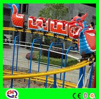kiddie ride park dragon roller coaster for sale!