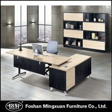 KTB0118 unique T shape luxury metal base executive office desk