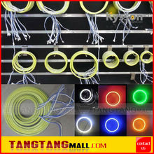 Color Changing 60mm 80mm 90mm 100mm 110mm 120mm white/yellow Dual Color Single Color, RGB COB Led Light Halo Angel Eyes Ring