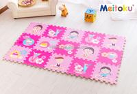 Plush eva foam horizontal mat baby play mat