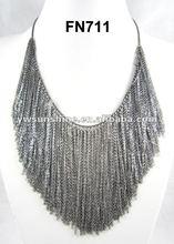 Hula grass skirt accessory jewelry necklace