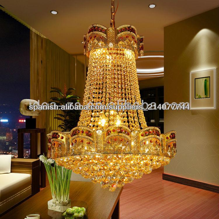 Candelabros de cristal hechos en china c1071 - Como hacer lamparas de techo modernas ...