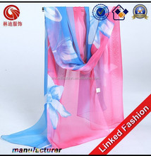 Young lady scarf Fashion chiffon scarf neck wrap