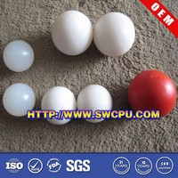 Customized 20mm 30mm 40mm 50mm solid hard plastic balls