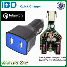 Made in China micro tablet charger QC 2.0 car charger hot sale for LG Disney Mobile DM-01G tablet
