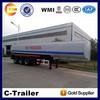 2014 2 Axle new fuel tank semi trailer