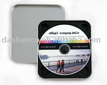 metal tin cd case