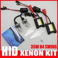 35w bi xenon H4 H13 9004 9007 Swing High Low Beam Bulb 4300k 6000k 8000k 12000k Car Swing Bixenon hid Conversion Kits