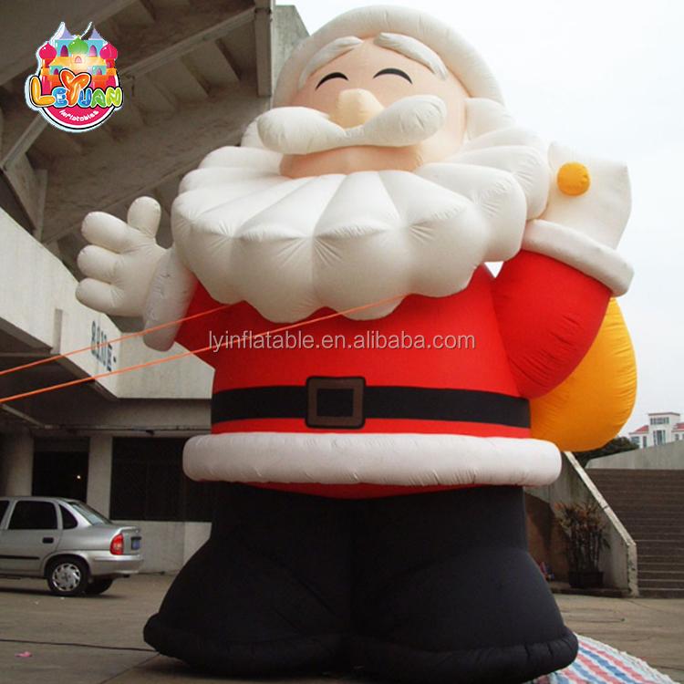 Gonflable De Noël Santa Claus, Advrtising Gonflable De Noël Vieil Homme, en plein air Gonflable De Noël Grinch Pour Vente