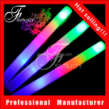 Led Foam Glow Stick Light Up Foam Stick LED Light-Up Baton SJ-LFS024