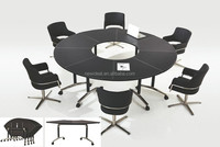 combined folding round conference table ( NH2603 )