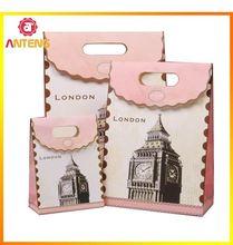Green Tea Fusion Packaging Bag 3d Paper Bag Design