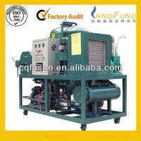 Automatic backwashing Easy to control transformer oil centrifuging machine