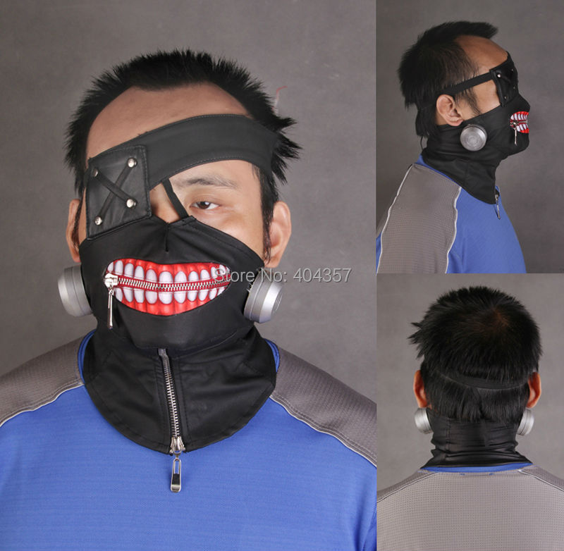 Как сделать маску канеки кена своими руками 94