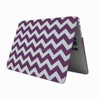 """For Macbook Air Computer Case Cover, Wholesale Colorful Chevron Pattern Hard Case for Macbook Pro 15"""" Retina"""