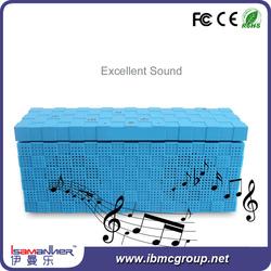 Unique design silicon 4.0 bluetooth portable wireless smart box speaker