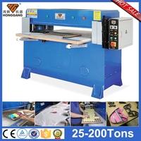 double cylinder hydraulic manual die cut eva products cutting press