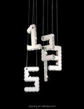 Crystal Modern Lighting hanging lamp for dinning room Model:EC933