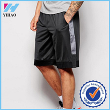 Yihao 2015 Custom 100% Polyester Basketball Shorts in Mesh Fabric/Mens Sports Shorts/Cheap Mesh Basketball Jerseys